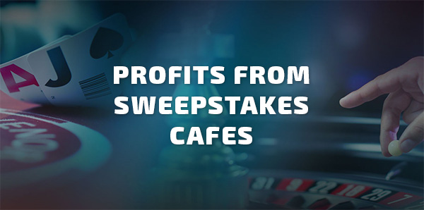 Attractive profits from internet sweepstakes cafe business
