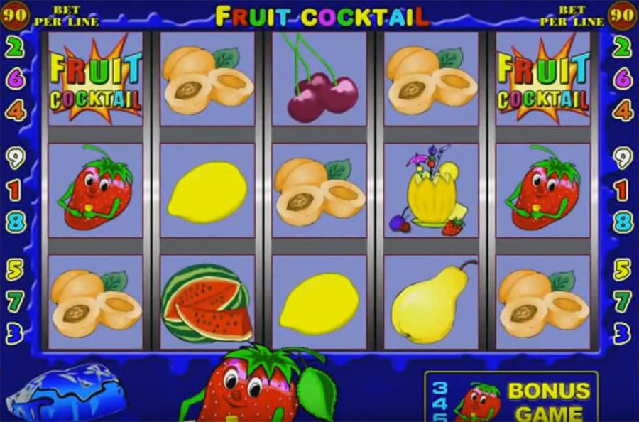 Игровые автоматы фруктовый коктейль