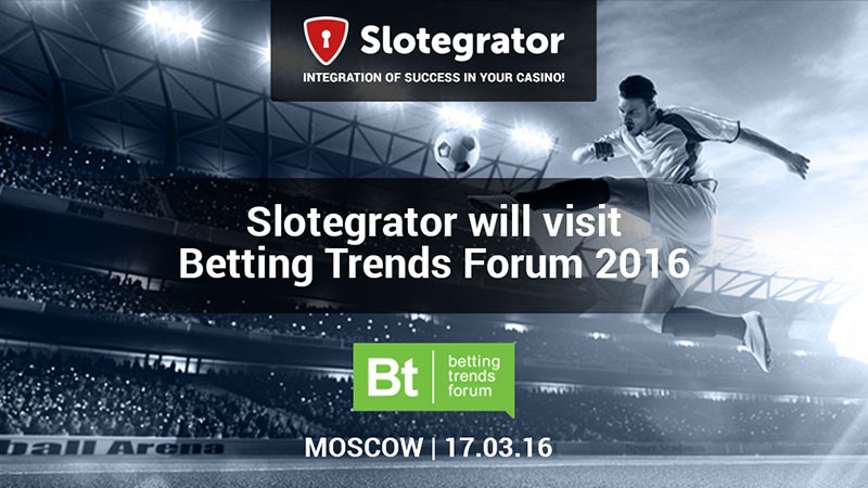 Betting Trends Forum 2016, Slotegrator